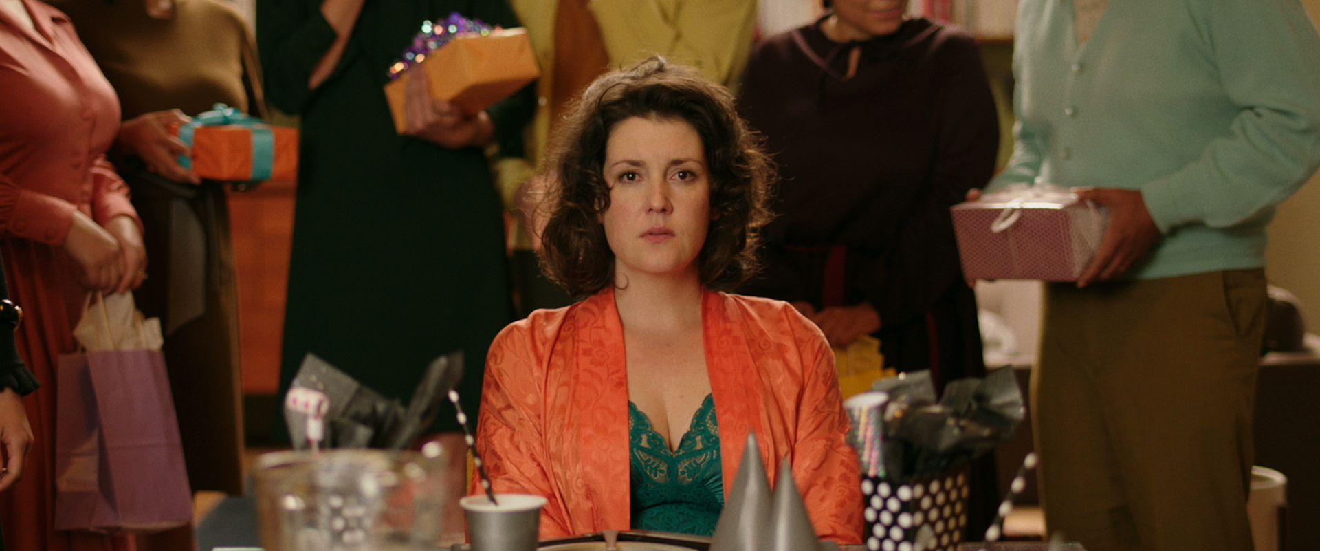 "Melanie Lynskey in ""The Birthday Party"" in XX, a Magnet release.  Photo courtesy of Magnet Releasing."